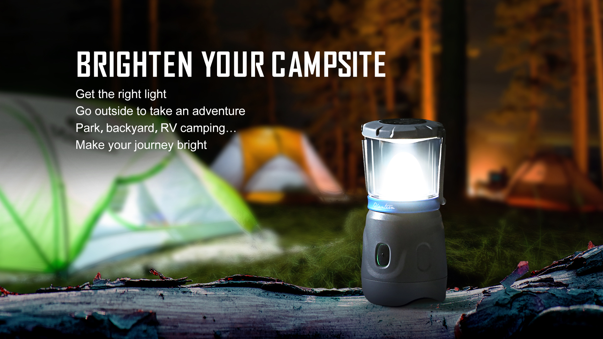 Olantern Rechargeable Camping Lights bright