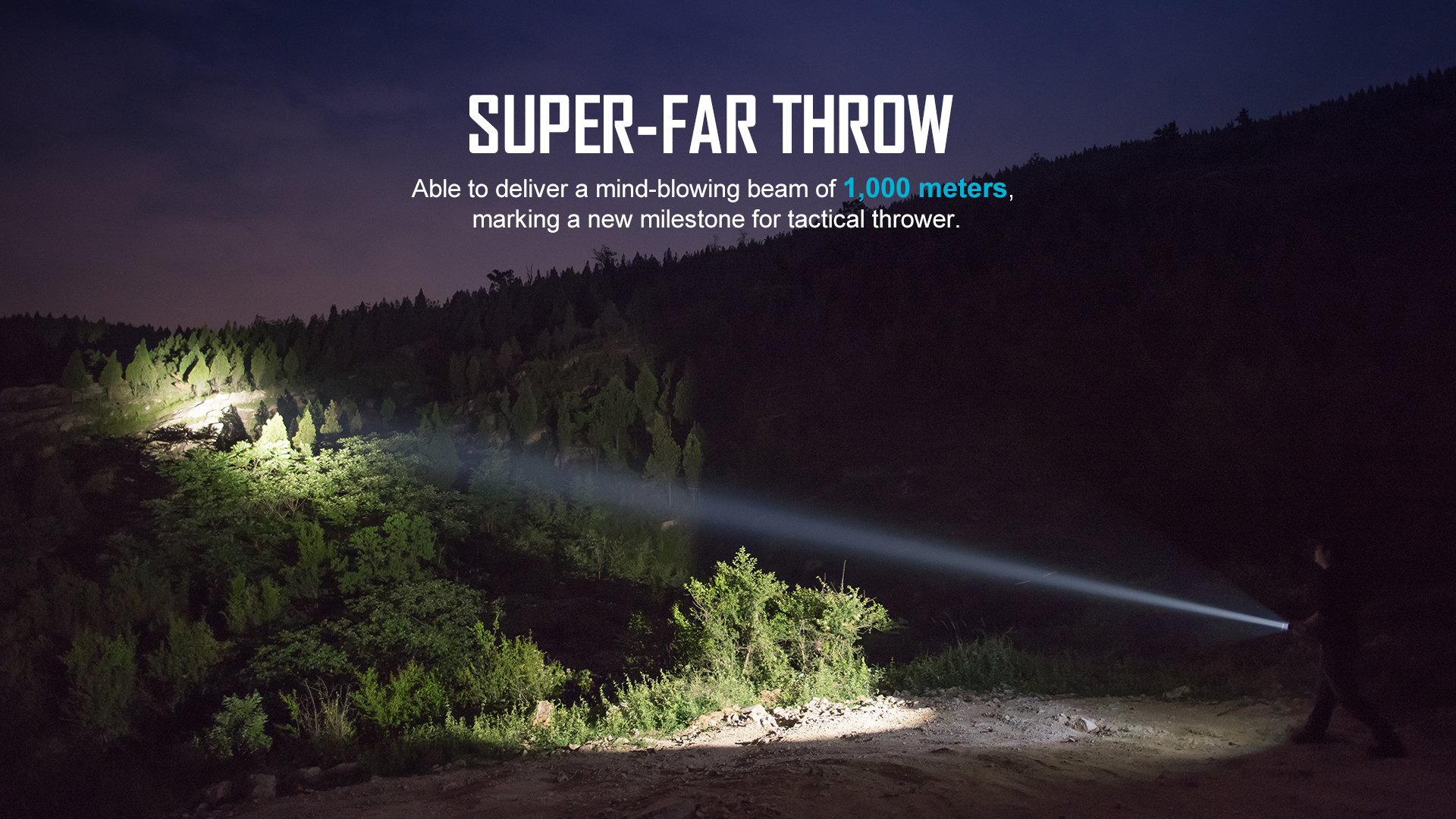 warrior x turbo tactical flashlight 1100 lumens